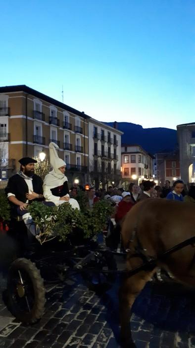 Urduña hiria ere bisitatu dute Olentzero eta Maridomingik - 5