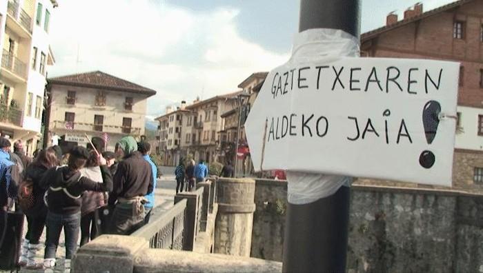 Gaztetxearen beharra aldarrikatu du Gazte Asanbladak