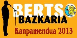 Bertso bazkaria Kanpamentuaren alde