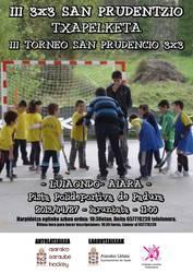 Larunbatean izango da Luiaondon III. San Prudentzio 3x3 Hockey Txapelketa