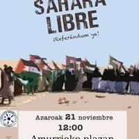 Sahara Libre, erreferenduma orain!