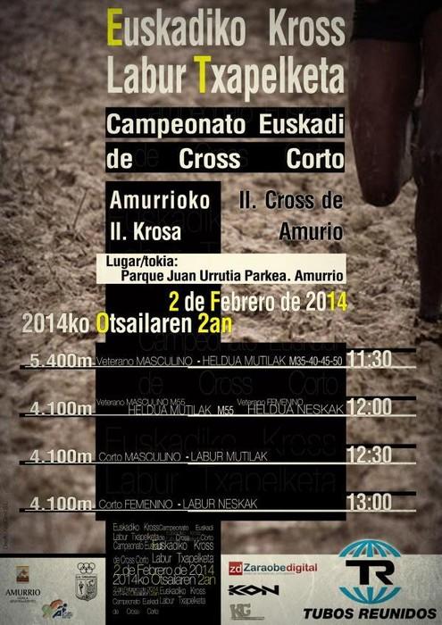 Amurrioko II Krosa: Euskadiko Kros Labur eta Beteranoen Txapelketa