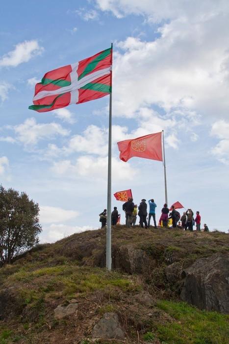 Nafarroako Erresumaren ikurra Arakaldon - 33
