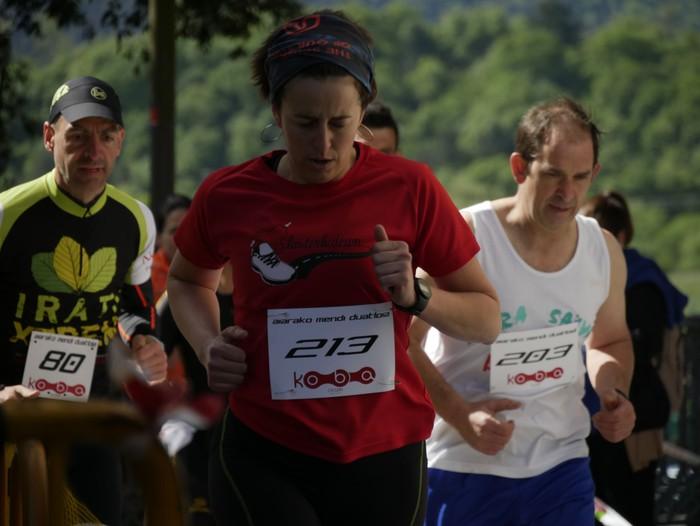 Zuriñe Frutosek eta Iñaki Isasik irabazi dute Aiarako Mendi Duatloia - 29