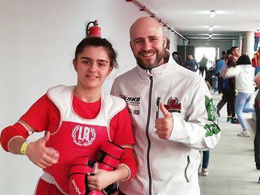Izaro Blanco, babesle bila Munduko Kick Boxing Txapelketan parte hartzeko