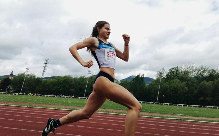 Naiane Bravo Llamosas Euskadiko Txapeldunordea izan da 100 metrotan