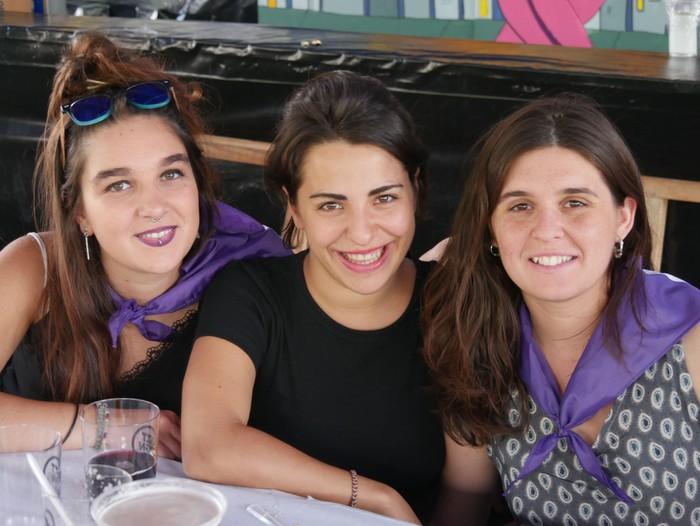 Saretzeko ekintzak eta espazioak uztartu zituen atzo Egun feministak - 21