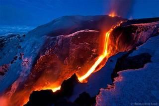 Islandiako azken erupzioak