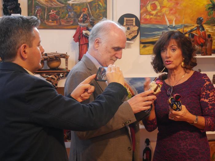 ONCE erakundearen omenezko lana jarri dute Santxotena Museoko Munduko Belenen Erakusketan - 40