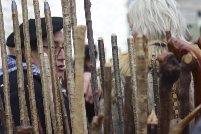 Ehunka ekoizlek eta bisitarik egin dute bat San Anton azokan - 61