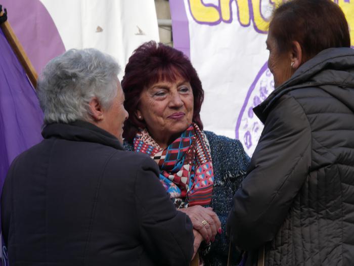 Indarkeria matxistaren aurka mobilizatu dira eskualde osoan - 89