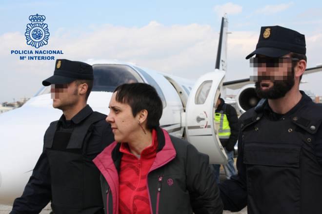 Alaitz Aramendi preso politiko orozkoarra Espainiaratu dute