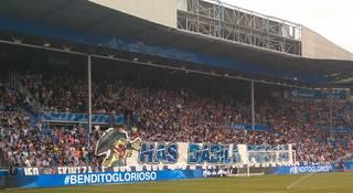 Deportivo Alaves eta F.C. Deportivo taldeen arteko norgehiagoka ikusteko 25 sarrera banatuko ditu udalak