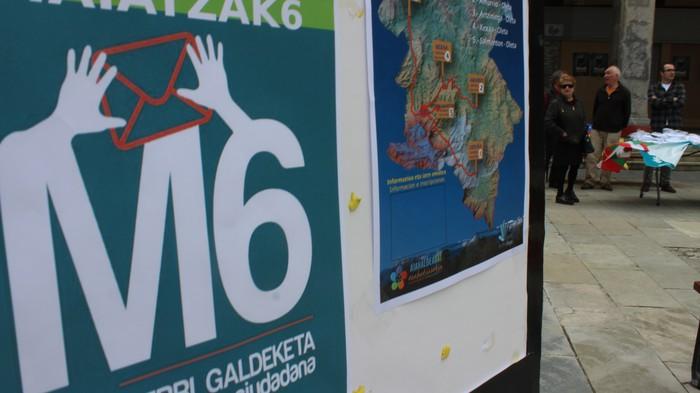 Gure Esku Dago plataformak erabakitzeko eskubidea aldarrikatu du gaur  - 14
