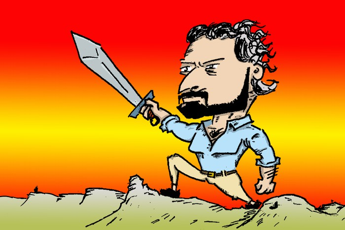 """[ANALISIA] Santiago Abascal: """"Konplexurik gabeko"""" faxista baten gorakada"""