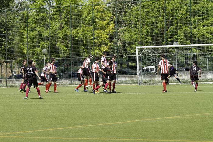 CD Laudioko gazteek lortu dute sailkapena Euskal Ligako play-offak jokatzeko - 23
