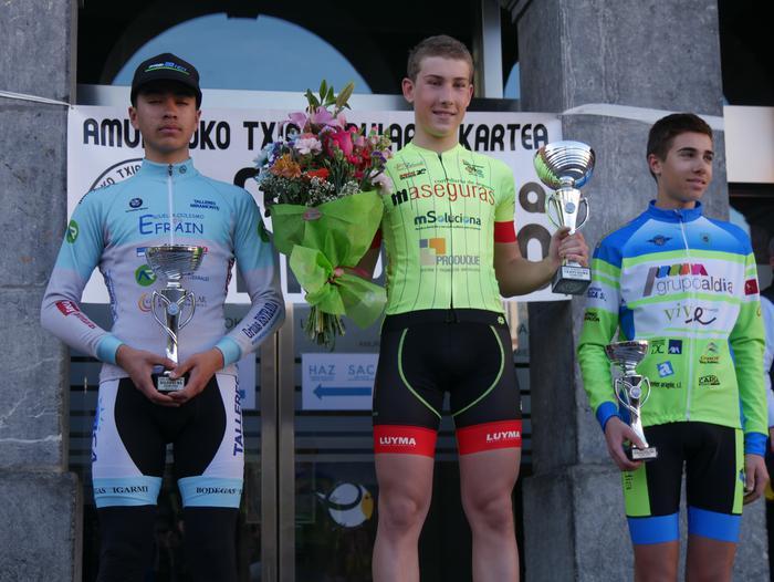 Pablo Fernandezek irabazi zuen sprintean Aiarako Birako lehen etapa - 109
