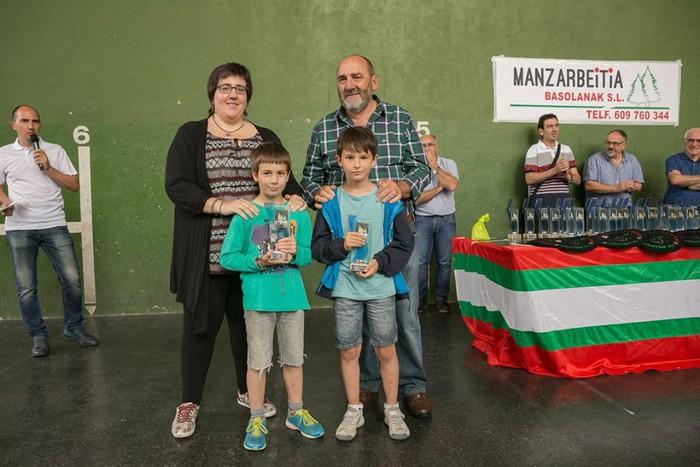 Herriko pilota txapelketa jokatu zuten asteburuan - 24