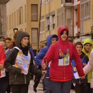 Hainbat umek parte hartu dute Urduñako Korrika Txikian