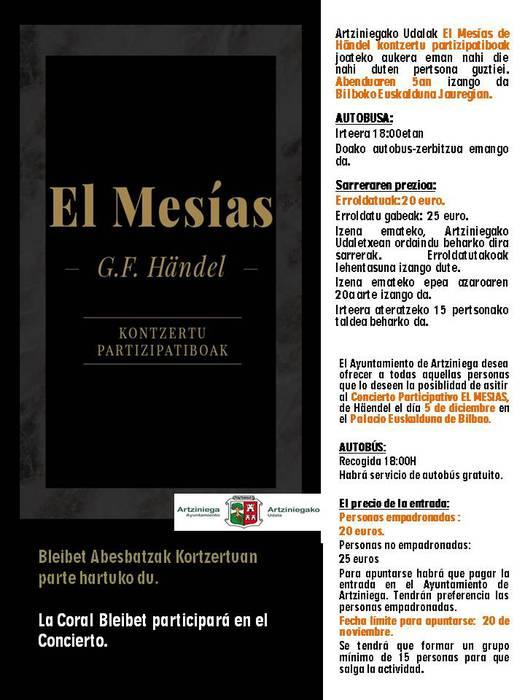El Mesías kontzertua
