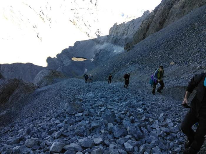 Monte Perdidon aritu dira Matxinkorta mendi taldeko kideak - 2
