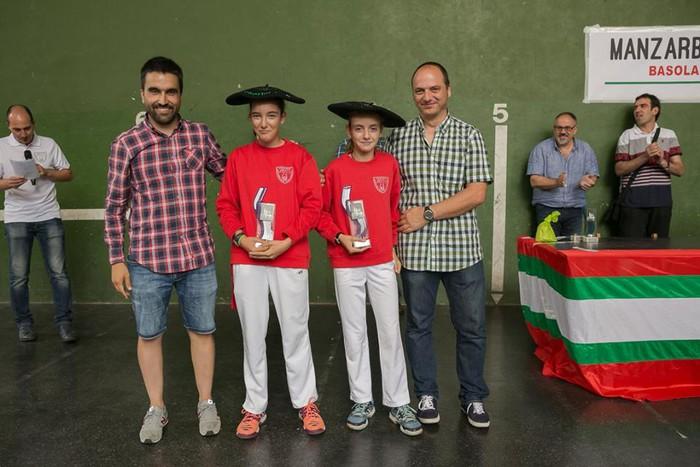 Herriko pilota txapelketa jokatu zuten asteburuan - 19