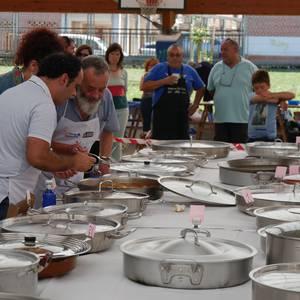 Margolariek eta herri kirolek girotu dute festetako larunbat eguerdia