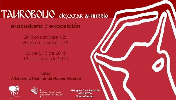 Elexazar aztarnategi erromatarraren hondar arkeologikoak ikusgai Gasteizko Bibat Arkeologia Museoan