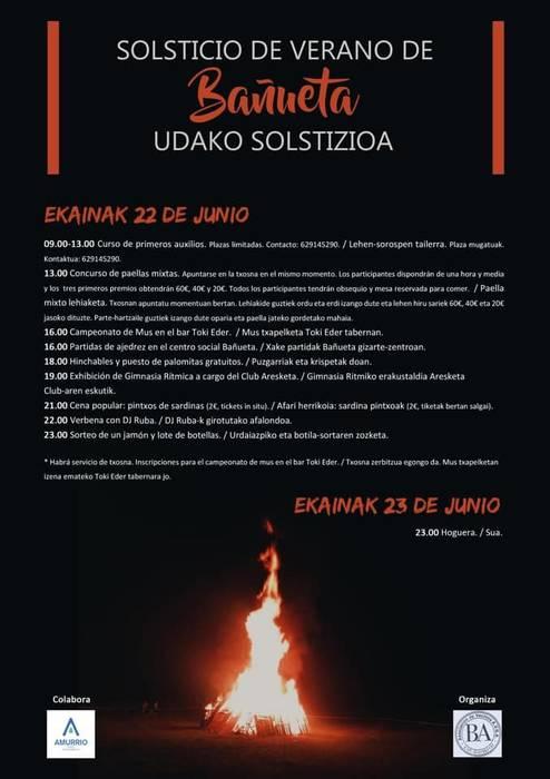 Bañuetan solstizioa