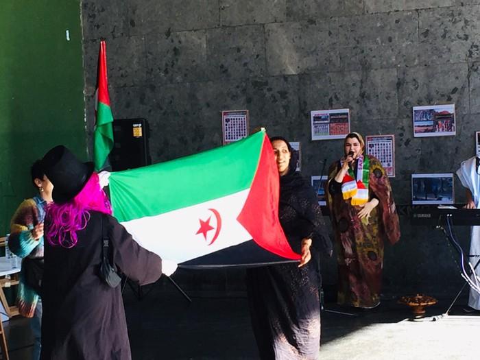 Saharako errepublikaren urteurrena ospatu zuten larunbatean Orozkon - 24