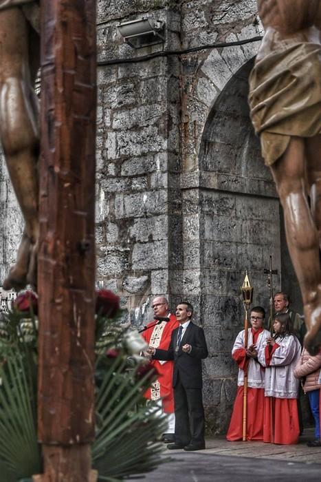Laudion ere prozesioak hartu zuen kalea Ostiral Santuan - 10