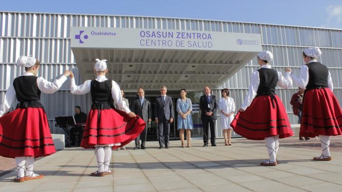 Iñigo Urkullu Lehendakariak inauguratu du anbulatorio berria