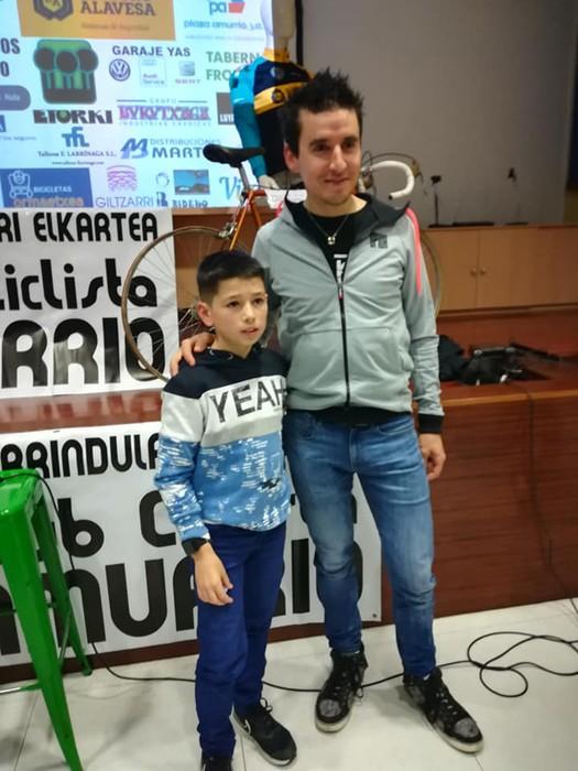 Igor Antonen solasaldia, Amurrioko Txirrindulari Elkartearen urtemugaren pizgarri - 15