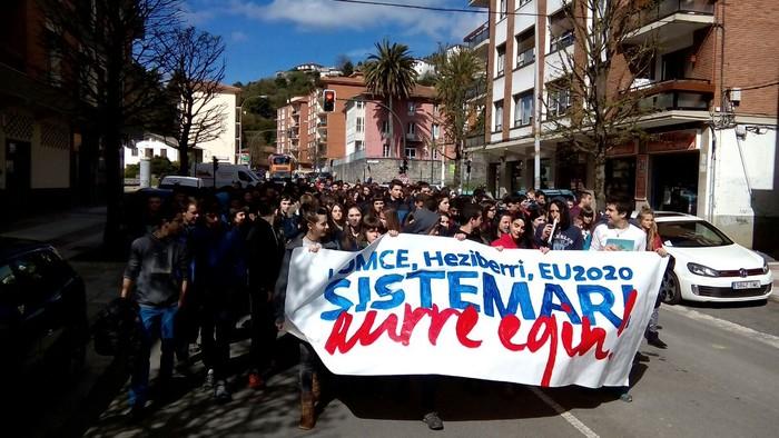 """""""Ikasle egun feminista"""" egingo dute larunbatean Laudion"""
