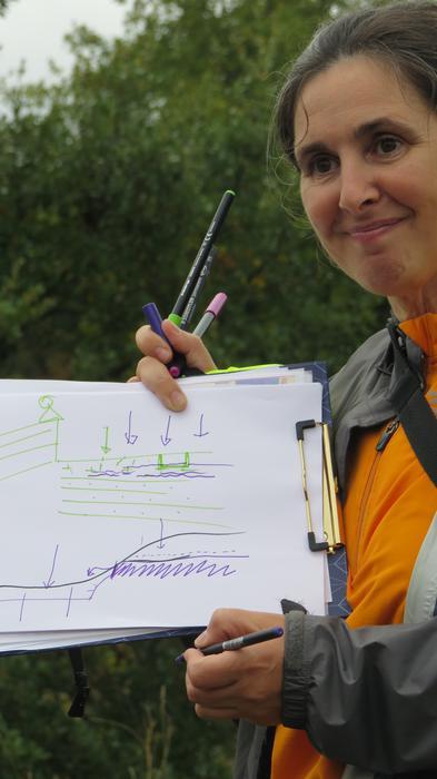 Hiriko egitura geologikoa aurkeztu dute ibilbidearen bitartez - 45