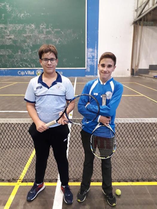 Gabonetako partidak antolatu ditu Laudio Tenis Klubak - 9