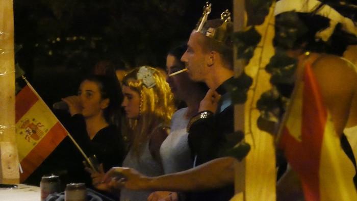 Kuadrillen karrozek koloreztatu dute Amurrioko jaien bosgarren eguna - 37