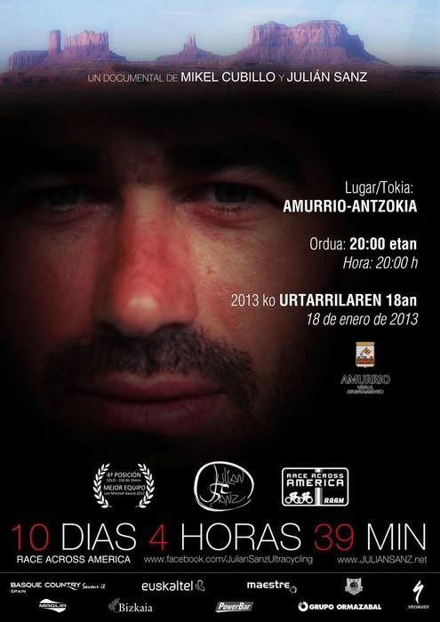 """""""Race Across America"""" lasterketari buruzko dokumentala estreinatuko da gaur Antzokian - 1"""