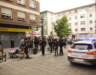 Bi gazte identifikatu ditu poliziak Ernairen mobilizazioan