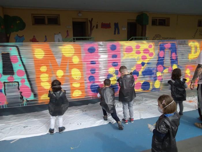 Graffiti tailerra burutu dute Lamuza Ikastetxean - 12