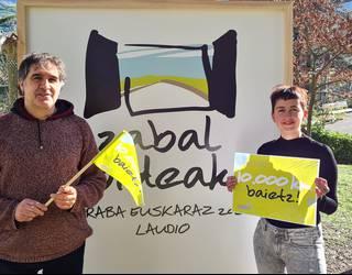 Araba Euskaraz jaian boluntario lanak betetzeko prest?