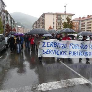 Enplegu, zerbitzu publikoak eta etxebizitza duinaren aldeko mobilizazioa