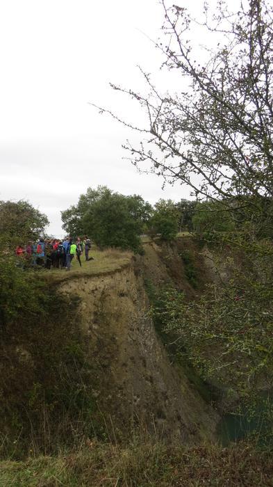 Hiriko egitura geologikoa aurkeztu dute ibilbidearen bitartez - 39