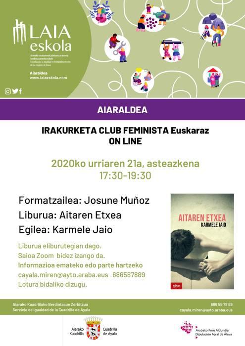 Aiaraldeko Irakurle Klub Feminista