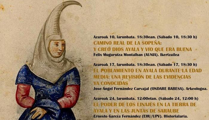 Asteburu honetan hasiko dira Aiarako XIII. Jardunaldi Historikoak - 1