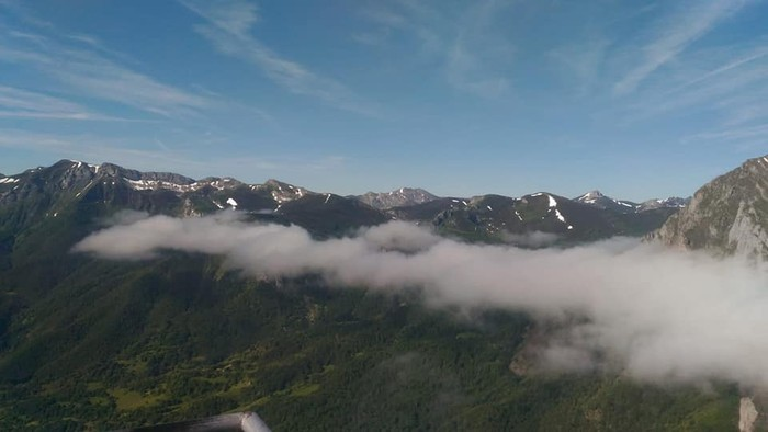 Picos de Europa bisitatu dute Matxinkortako kideek - 19