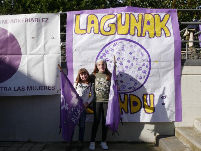 Indarkeria matxistaren aurka mobilizatu dira eskualde osoan - 97