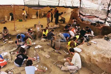 Gazteei indusketa arkeologiko batean parte hartzeko deia luzatu da