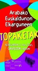 """""""Arabako Euskaldunon Elkarguneen Topaketak"""" aurrera egingo du larunbatean"""