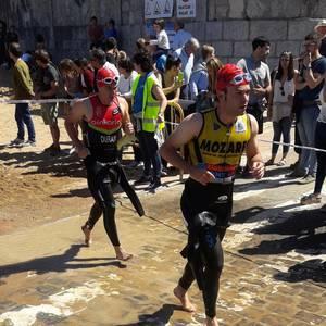 Oinkariak taldeko kideek 5 podium eskuratu zituzten Arabako Triatloi txapelketan